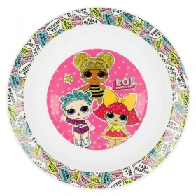 LOL Surprise kids micro deep plate