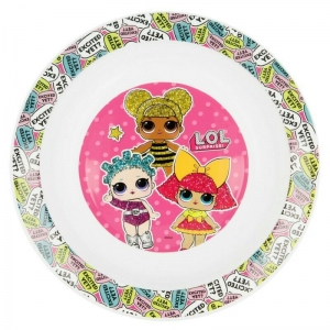LOL Surprise kids micro deep plate