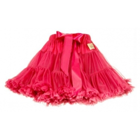 Lavashka party luxury skirt – strawberry, s. 6-8 years