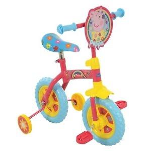 """Peppa Pig 2-in-1 10"""" Training Bike"""