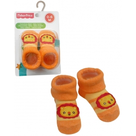 Fisher Price baby socks – lion