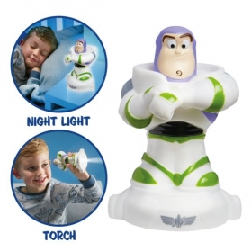 Toy Story Buzz Lightyear GoGlow Buddy Night Light and Torch