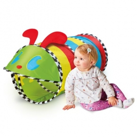 My First Kid Active Caterpillar Pop Up Baby Play Tunnel