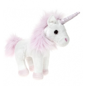 Unicorn plush toy 32 cm - white