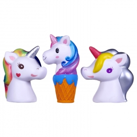 Rainbow Unicorn Squeezsters