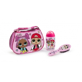 LOL Surprise Toilet Bag with Gel-Shampoo 120 ml & Brush Hair Skye