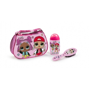 LOL Surprise Toilet Bag with Gel-Shampoo 120 ml & Brush Hair Skye