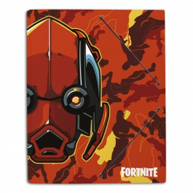 Fortnite 2 folder with rubber A4
