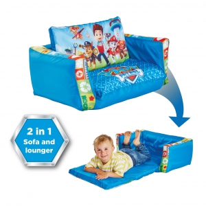 Paw Patrol inflatable sofa