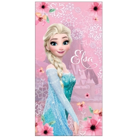Frozen microfibra beach towel