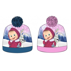 Masha and Bear autumn / winter hat
