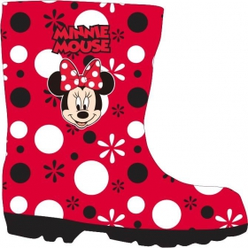 Minnie Mouse rainboots
