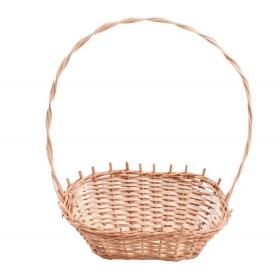 Tin Tours Wicker gift basket 30x19x14 / 42h cm