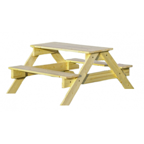 Children garden picnic table