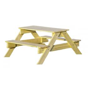 Children garden picnic table