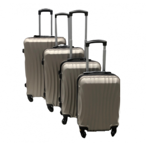 Trolley cases 3 pcs compartment