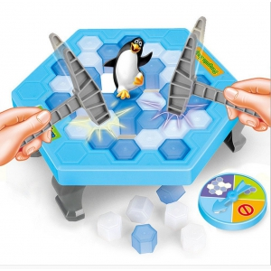 Game Penguins on ice trap ICE