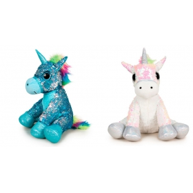Unicorn 35 cm 3 asst plush