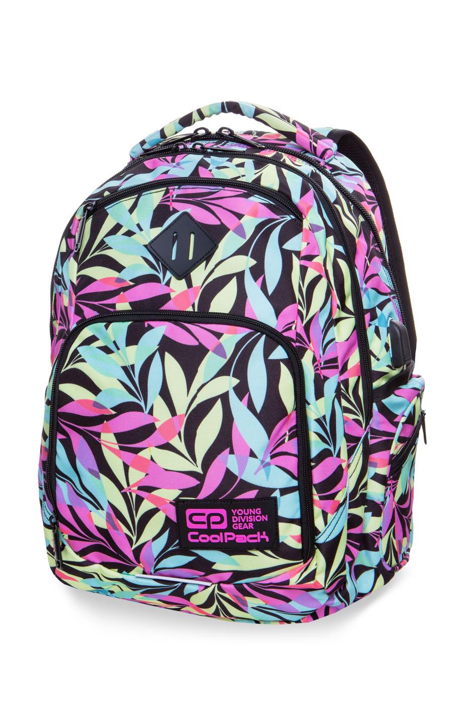 Coolpack   break  rygsæk   pastel leaves