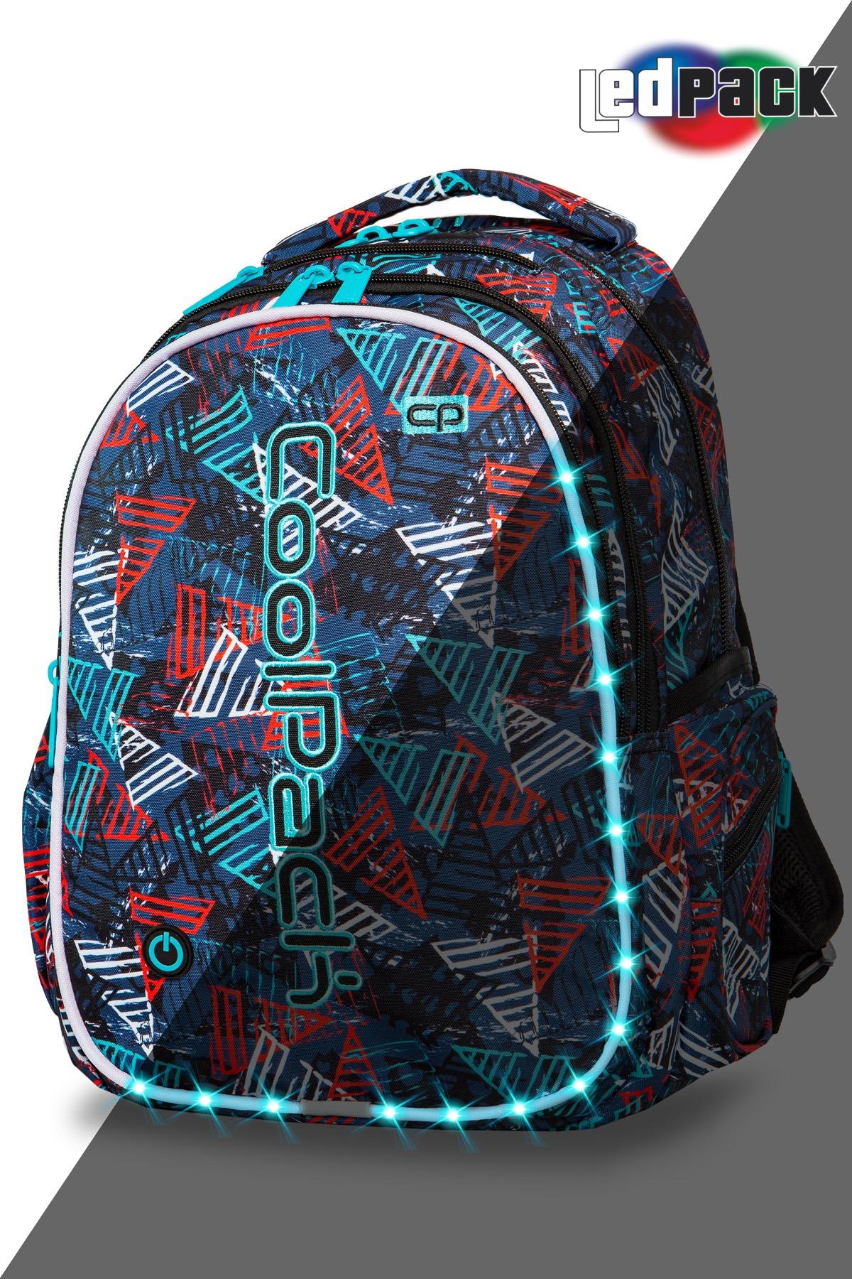 Coolpack   joy l  rygsæk   led triangles