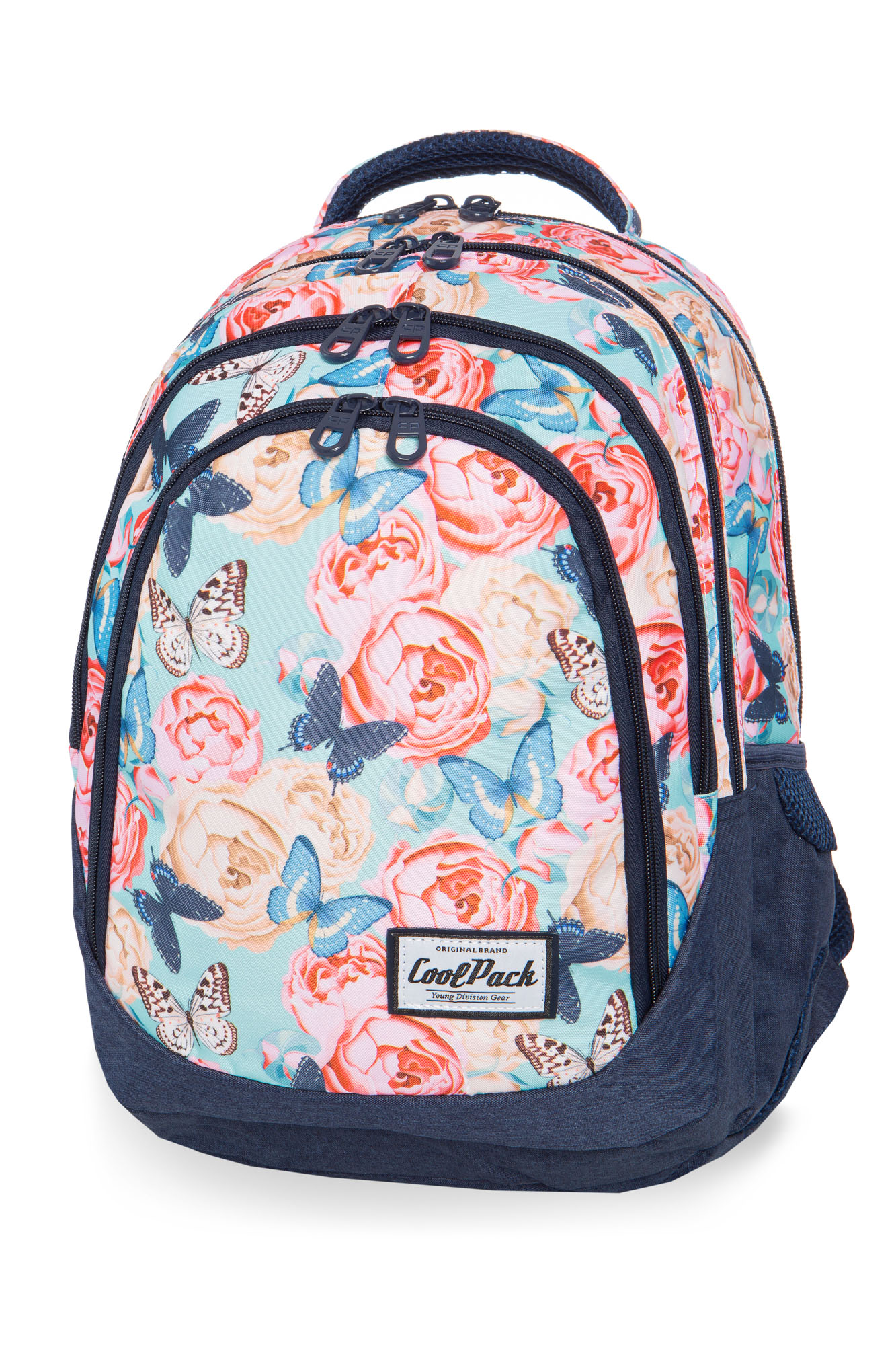 Coolpack - drafter - youth backpack - butterflies