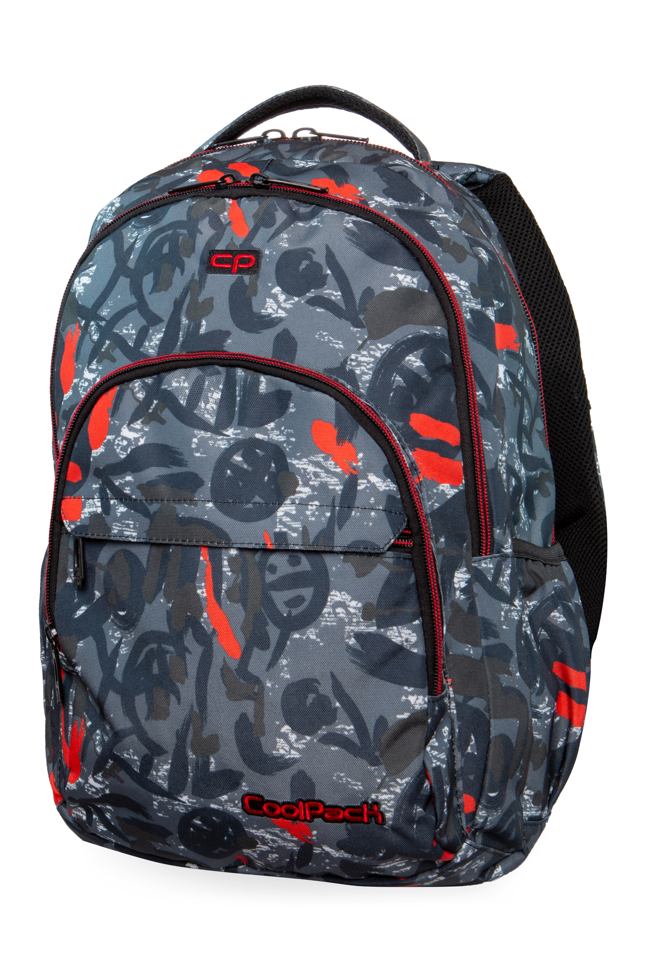 Coolpack - basic plus - youth backpack - red indian