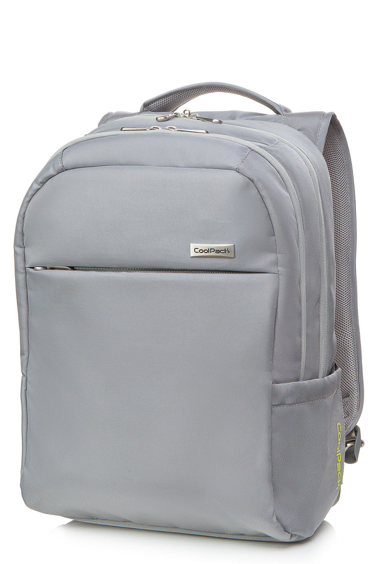 Coolpack - force - business backpack - light gray