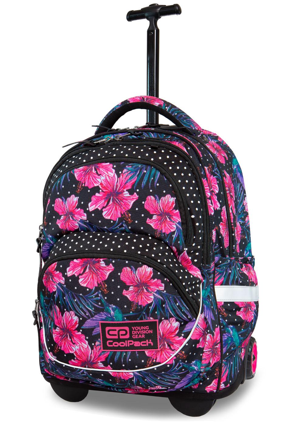 Coolpack   starr  rygsæk med hjul   blossoms