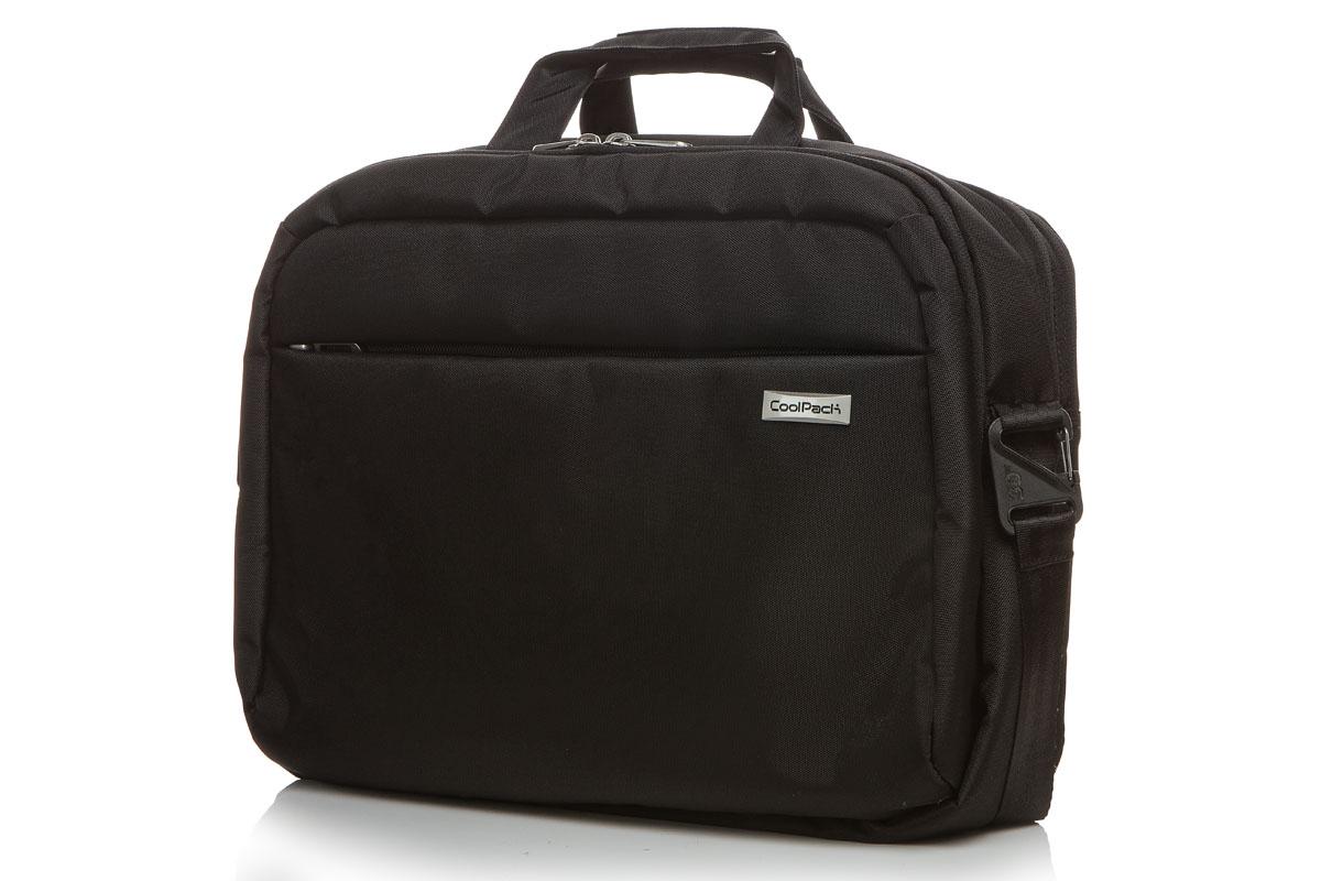 Coolpack - ridge - laptop bag - black