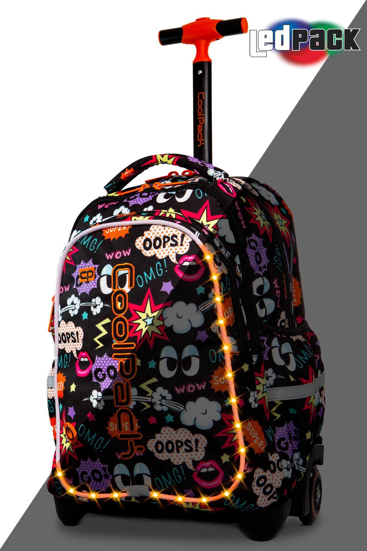 Coolpack   junior  rygsæk med hjul   led comics