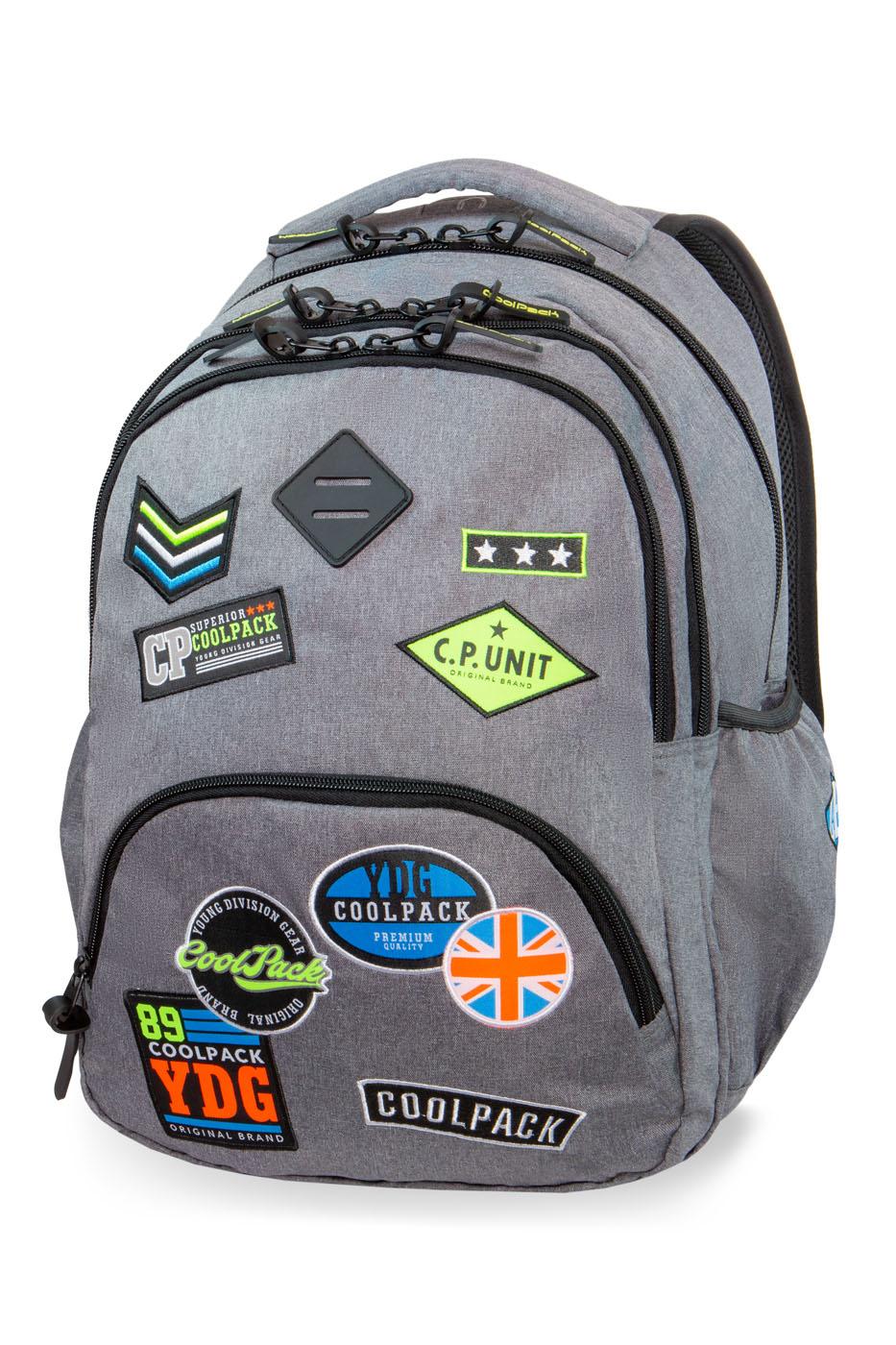 Coolpack   bentley  rygsæk   gray