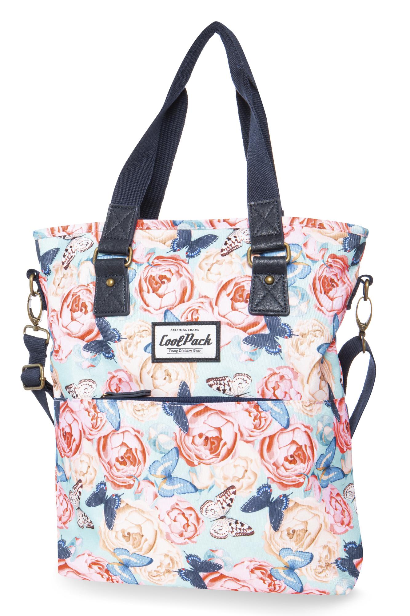 Coolpack - amber - shoulder bag - butterflies