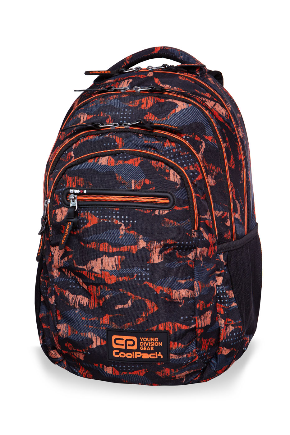 Coolpack - college tech - youth backpack - orango
