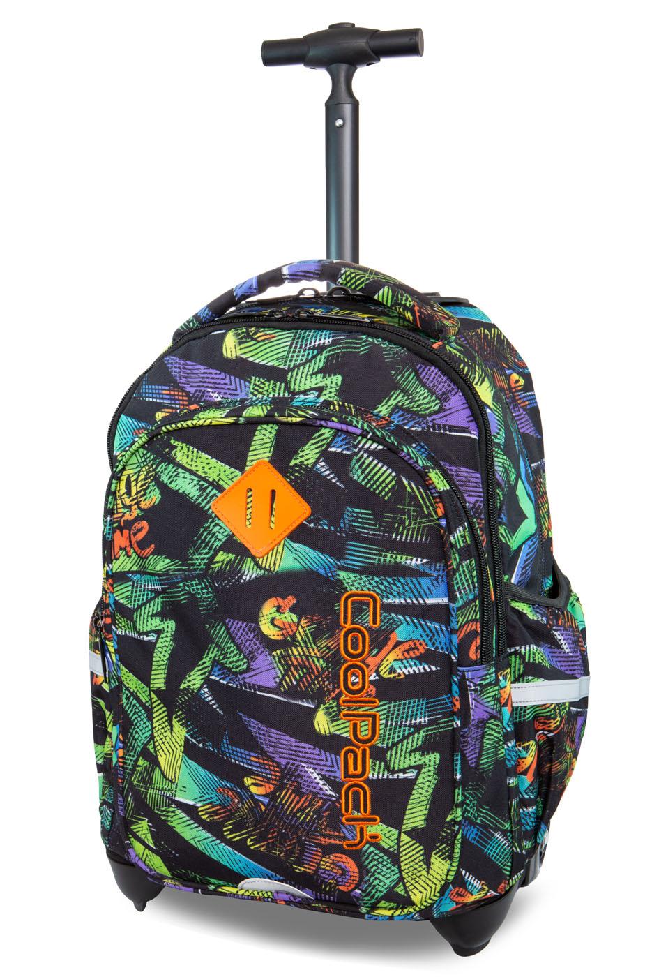 Coolpack   junior  rygsæk med hjul   grunge time