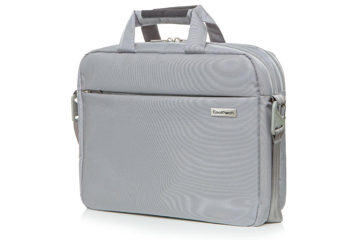 Coolpack - lagoon - laptop bag - light gray