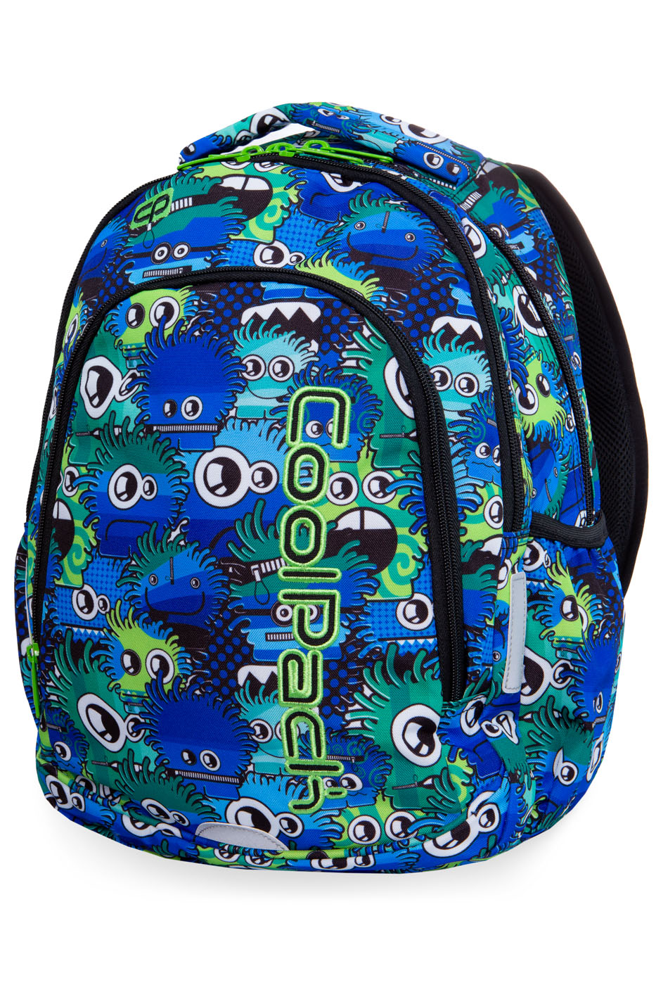 Coolpack - prime - youth backpack - wiggly eyes blue