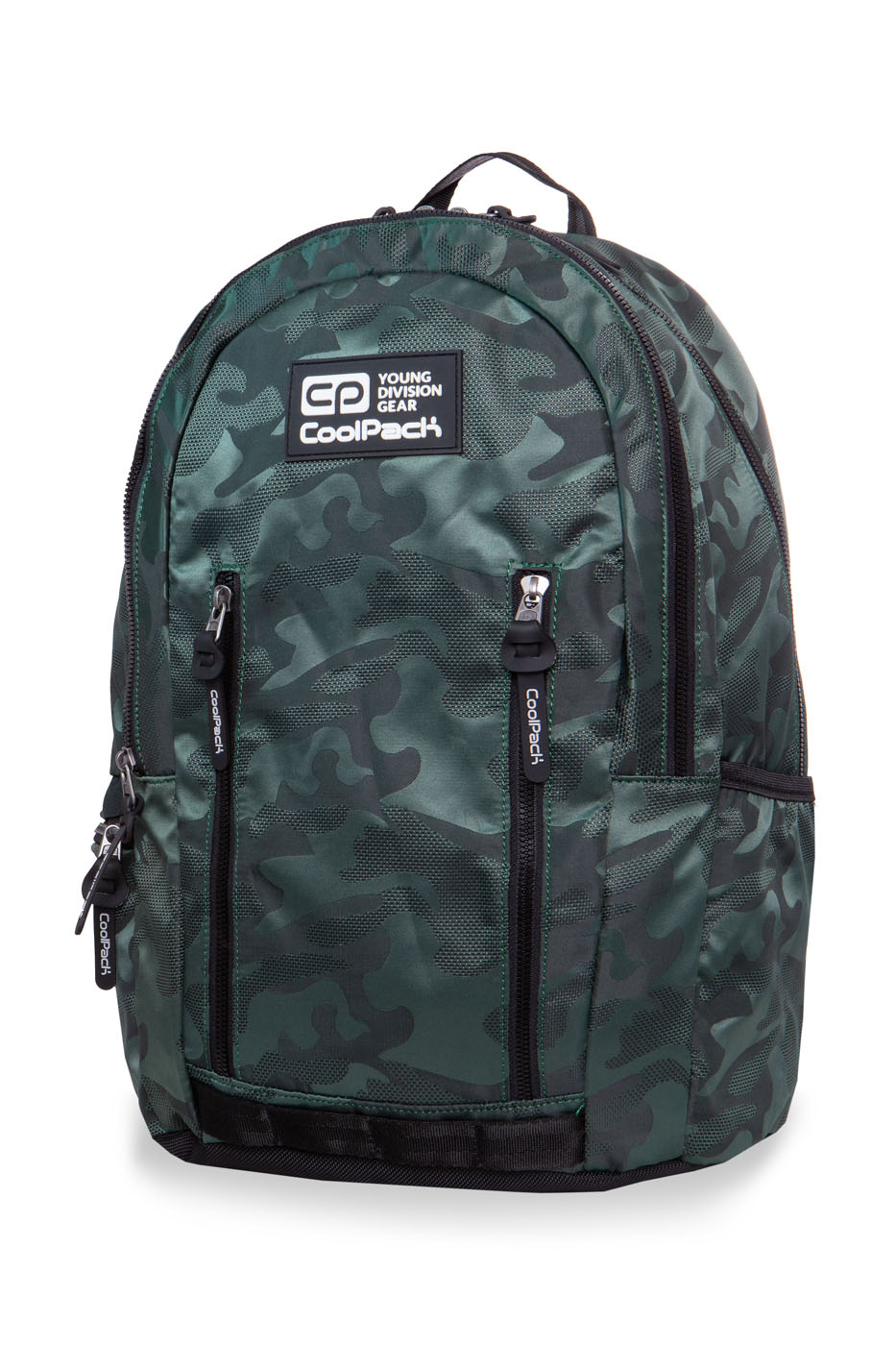 Coolpack - impact ii - youth backpack - army green