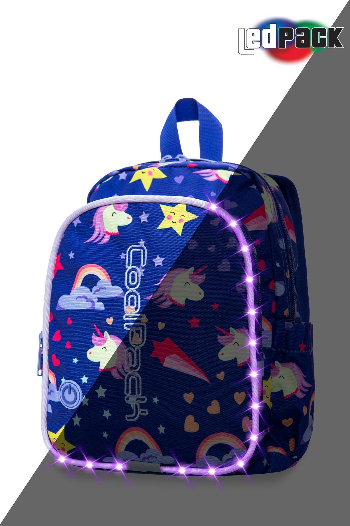 Coolpack   bobby   børne rygsæk   led unicorns
