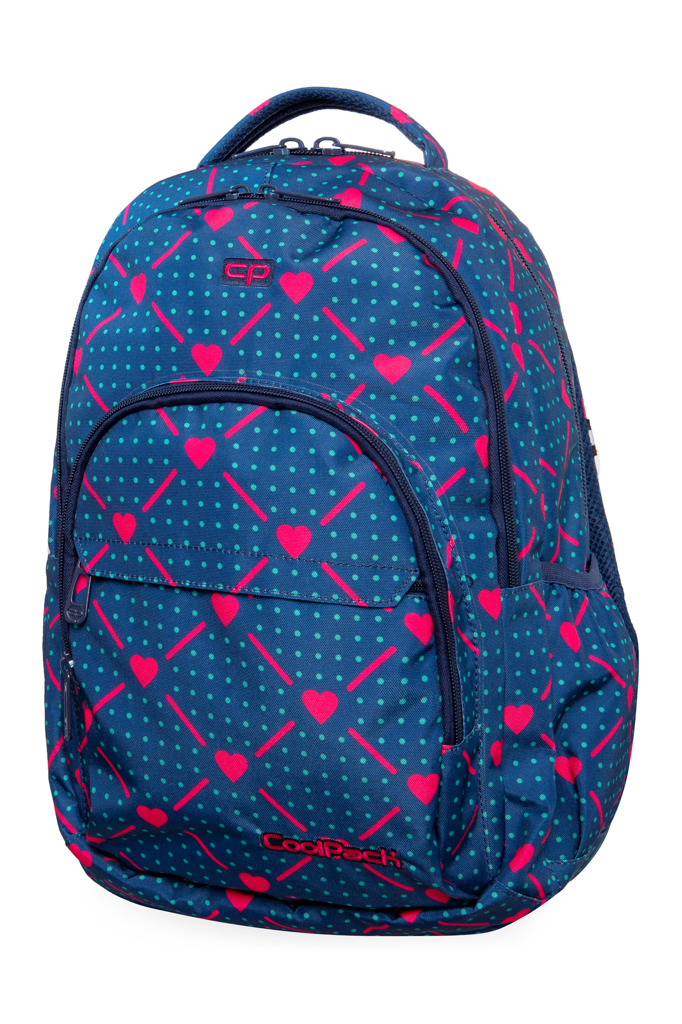 Coolpack - basic plus - youth backpack - heart link
