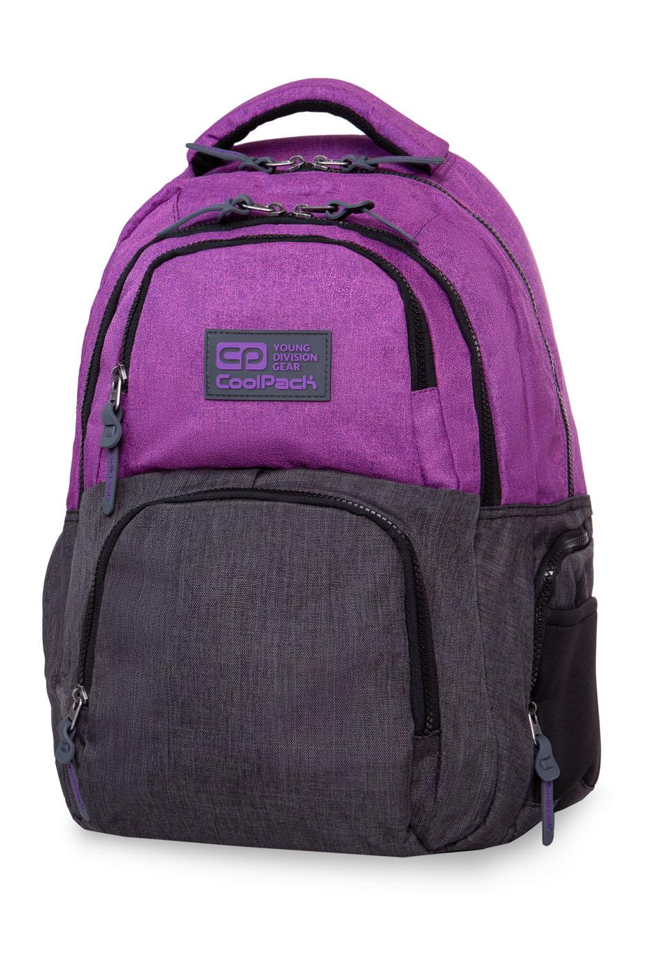 Coolpack - aero - youth backpack - melange purple