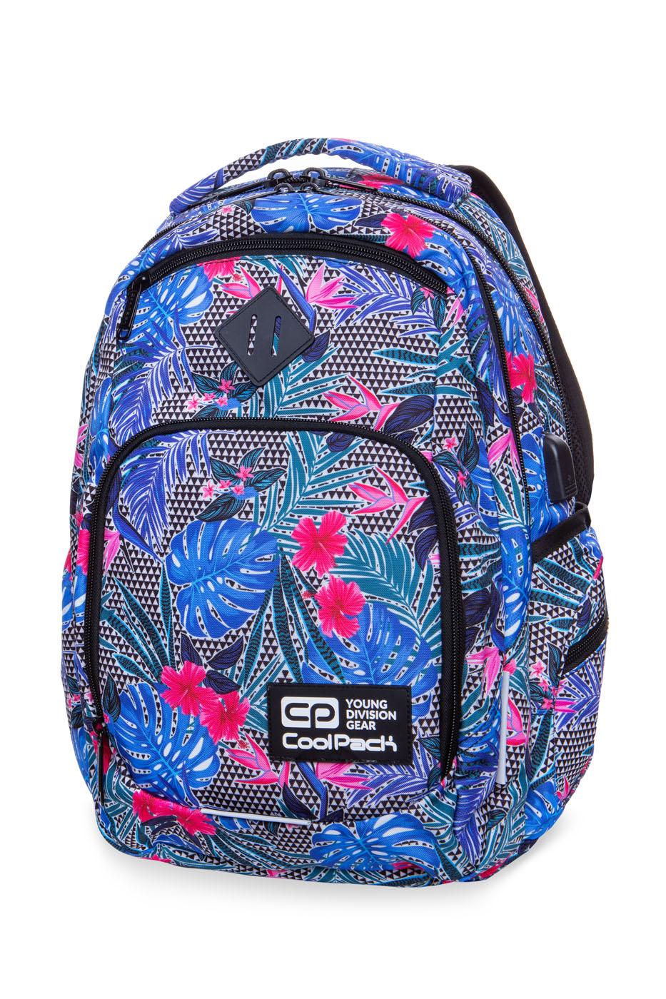 Coolpack   break  rygsæk   aloha blue