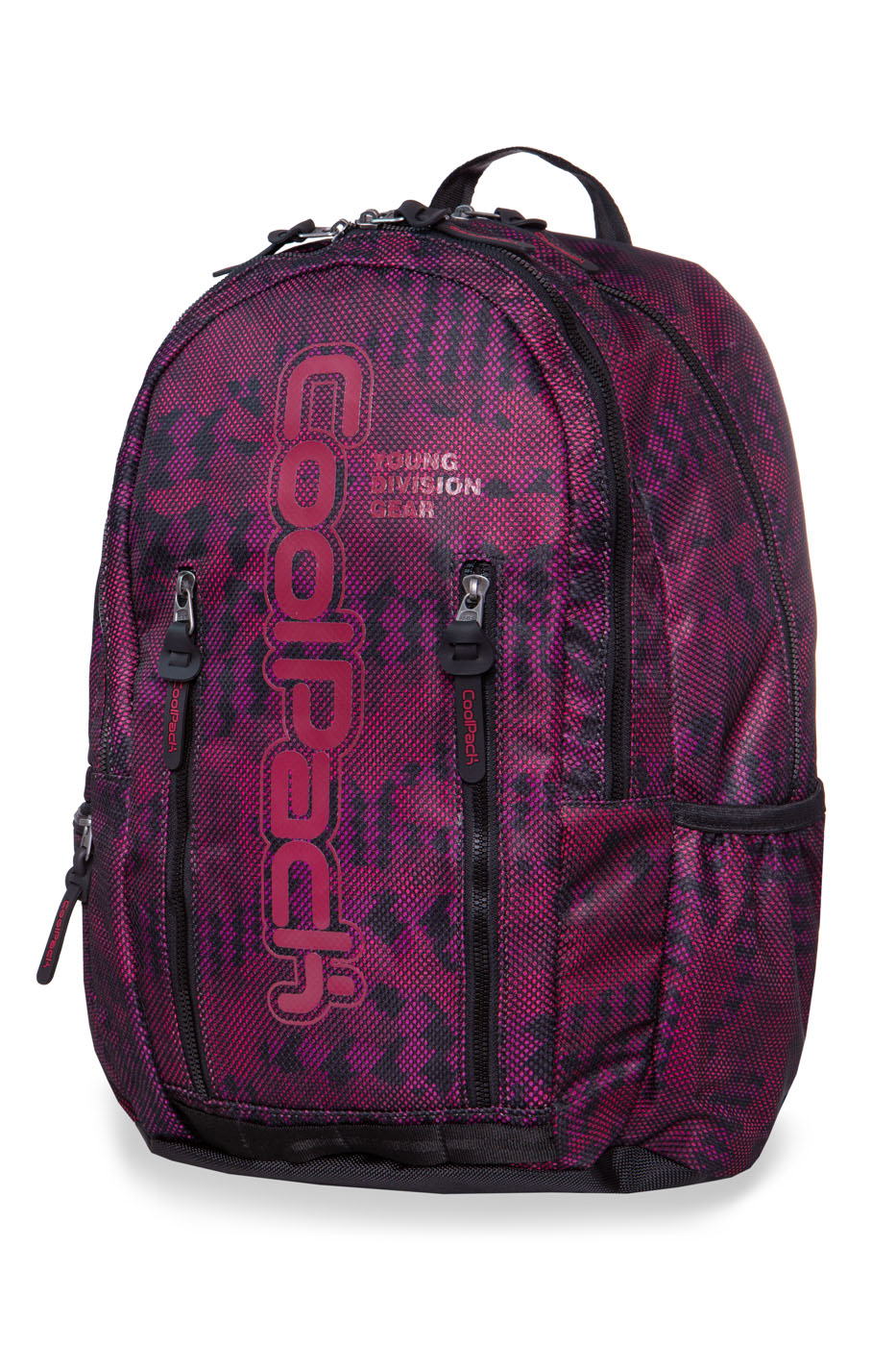 Coolpack - impact ii - youth backpack - army red