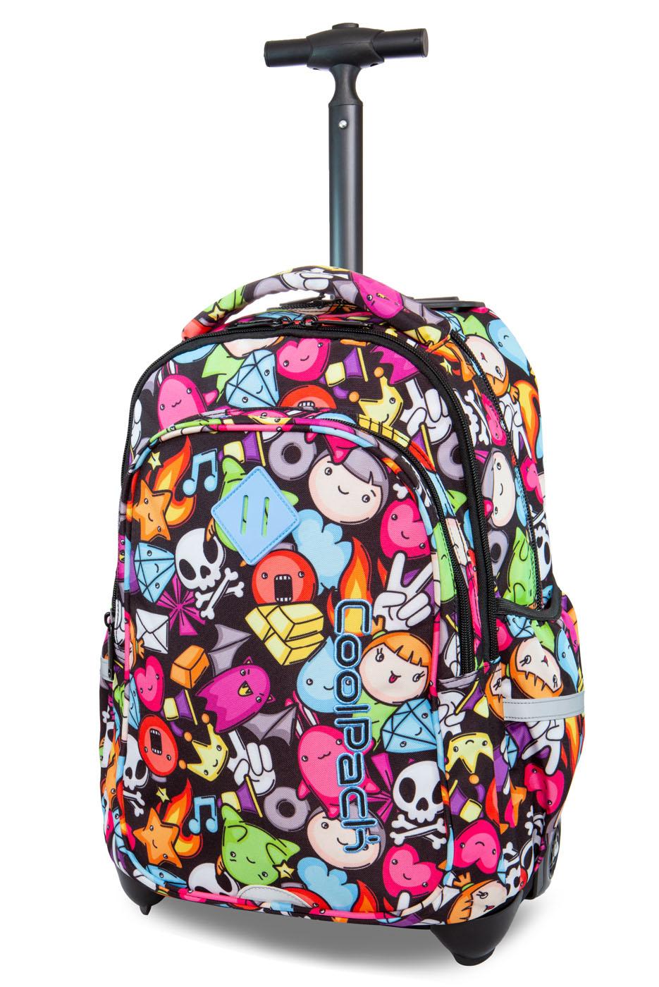 Coolpack   junior  rygsæk med hjul   doodle