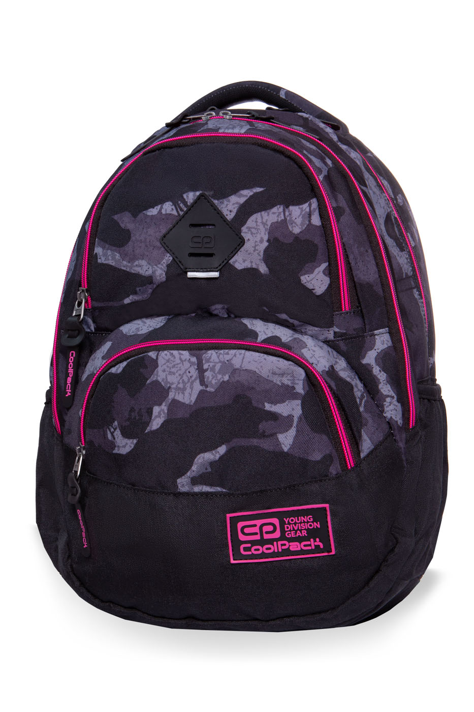 Coolpack - dart ii - youth backpack - camo pink