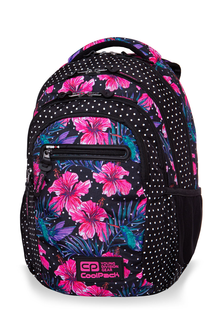 Coolpack - college tech - youth backpack - blossoms