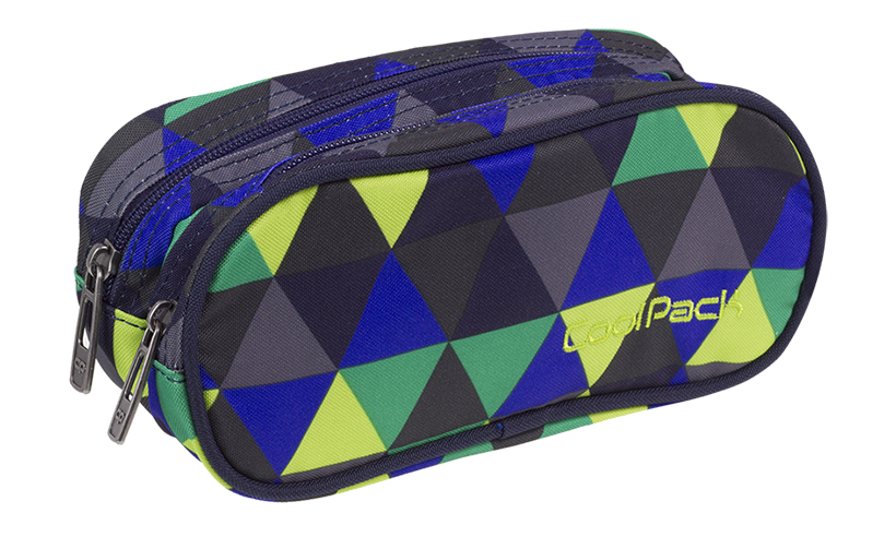 Penalhus Coolpack  clever polyester dobbelt