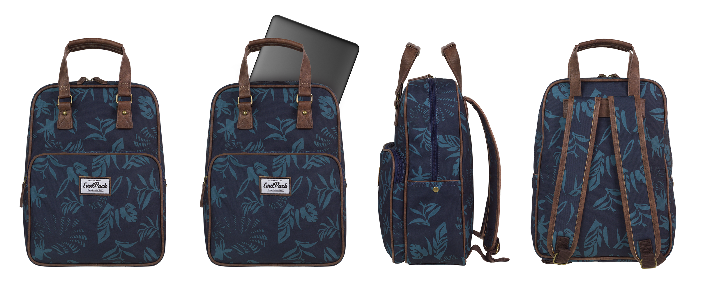 Coolpack - cubic - youth backpack - a087 - vintage