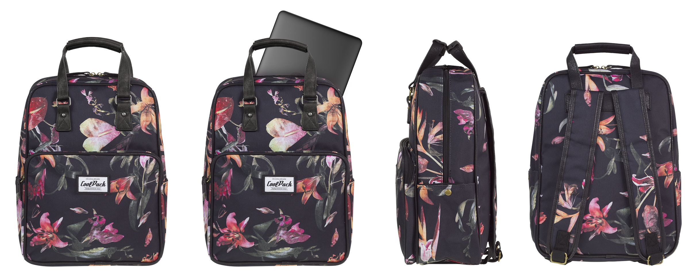 Coolpack - cubic - youth backpack - a096 - vintage