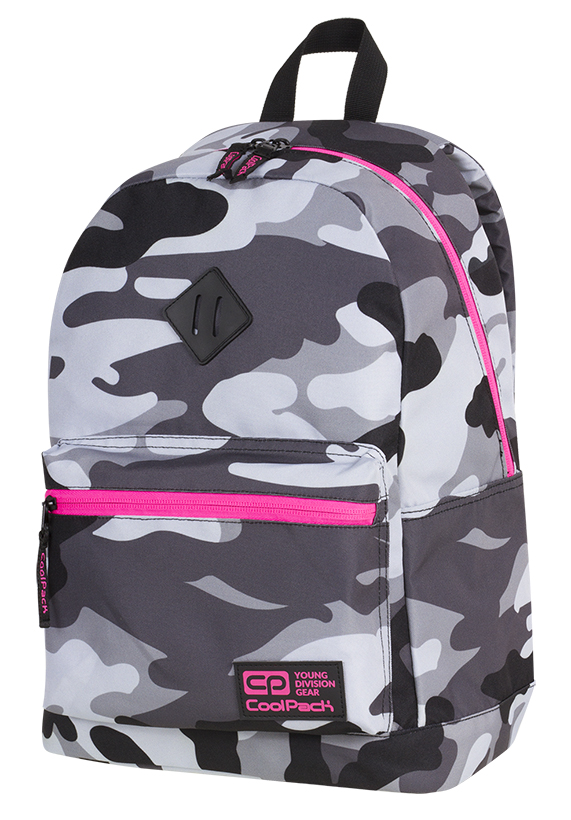Coolpack - cross - youth backpack - a357 - 1 divider (camouflage)