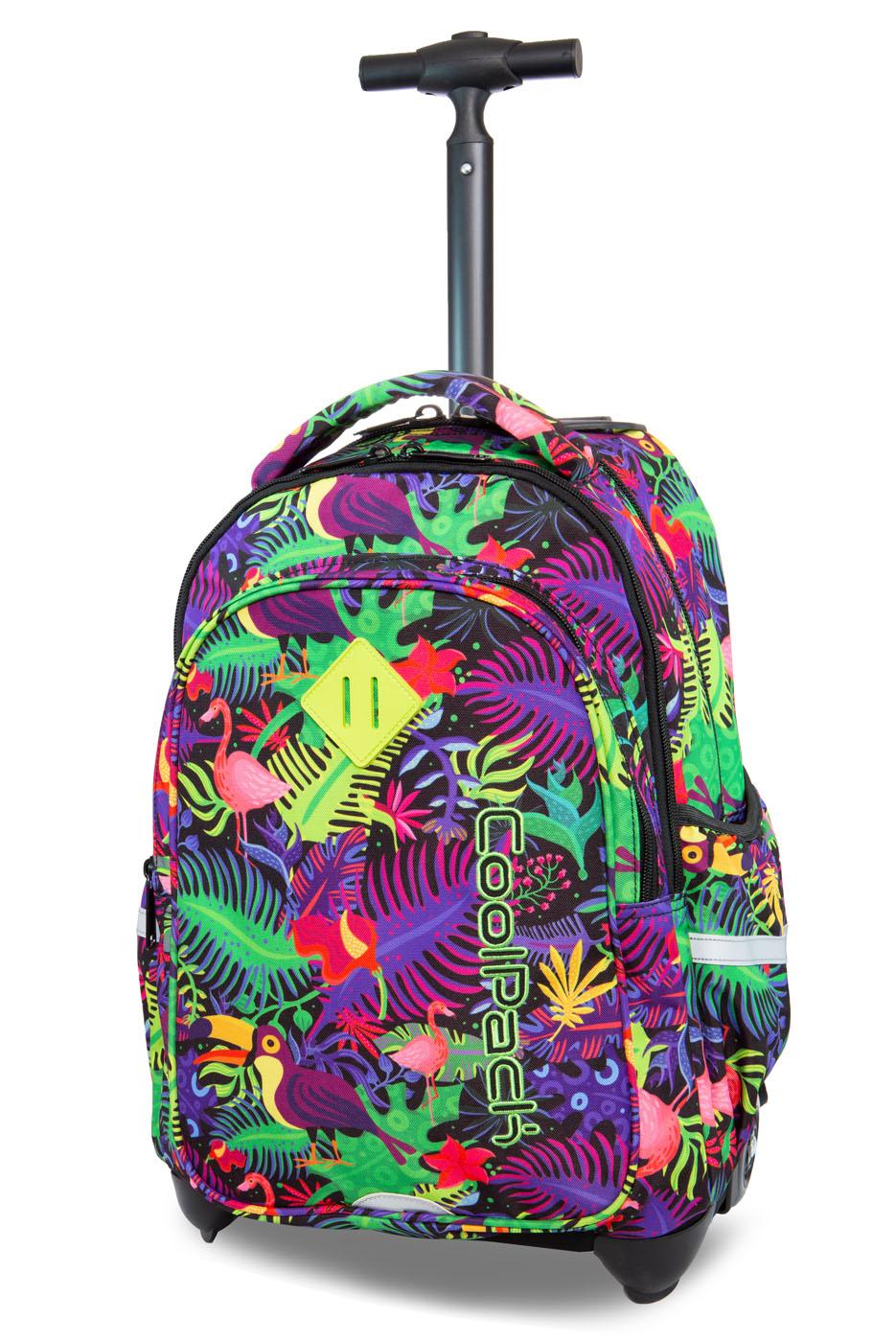Coolpack   junior  rygsæk med hjul   jungle